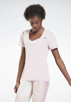 ACTIVCHILL - T-shirt basic - pink