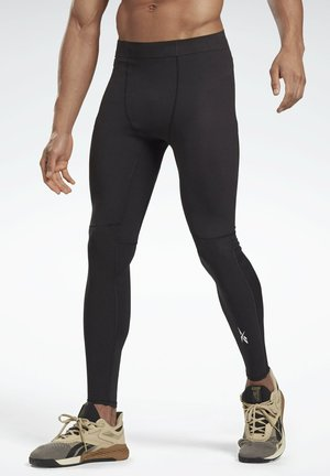 UNITED BY FITNESS COMPETITION - Legginsy - black