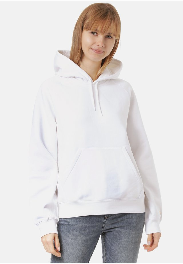 Hoodie - white / gold