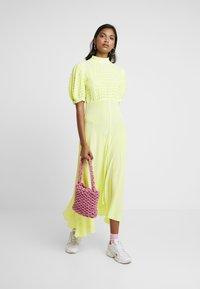 Ghost - JENNA DRESS - Maxi dress - lime/white - 1