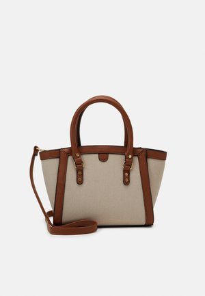 WHITBY - Tote bag - tan