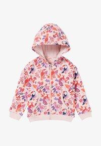 Du Pareil au Même - Zip-up sweatshirt - heather pink - 0