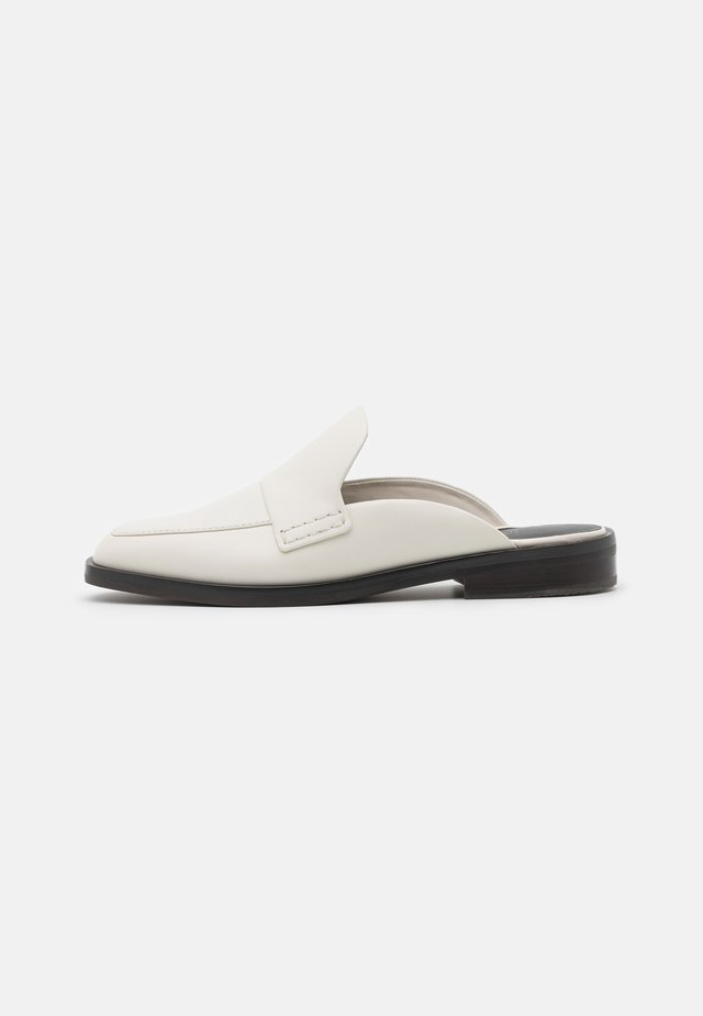 ALEXA LOAFER MULE - Ciabattine - bone