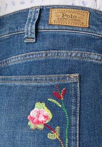 Polo Ralph Lauren - JENN FULL LENGTH FLARE - Bootcut jeans - blue - 4