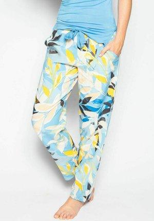 Pyjama bottoms - blue lemon