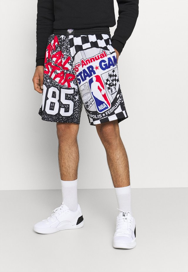 NBA ALL STAR ALL STAR  - Pantaloncini sportivi - black