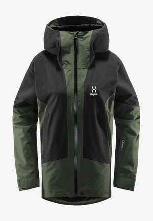 LUMI JACKET - Ski jacket - fjell green/true black