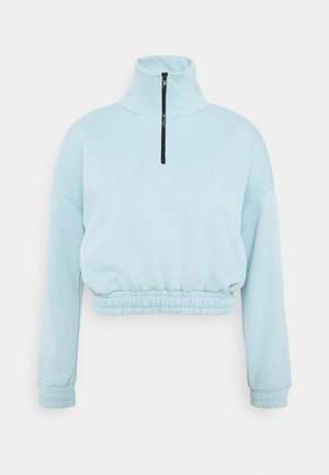 Sweatshirt - baby blue