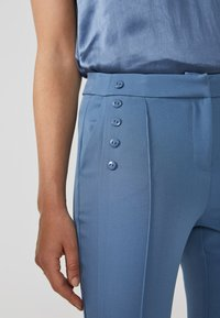 Aaiko - SOLLO VIS 345 - Trousers - steel blue a - 3