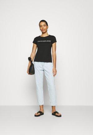 INSTITUTIONAL LOGO TEE 2 PACK - Print T-shirt - black