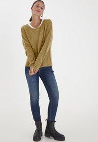 PULZ - PXIRIS SPECIAL FAIR OFFER - Jumper - gothic olive - 1