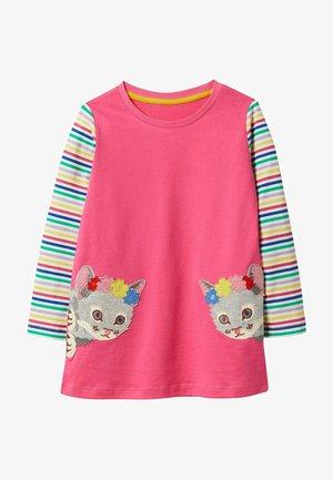 Tunic - pink, kätzchen