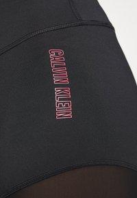Calvin Klein Performance - SHORT - Leggings - black - 5