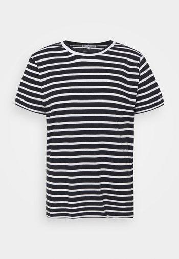 COOL TEE - Basic T-shirt - desert sky/white