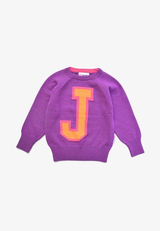 LOUIS - Jumper - purple