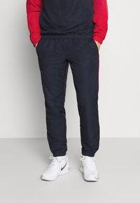 Lacoste Sport - TRACKSUIT - Träningsset - ruby/navy blue/white - 3