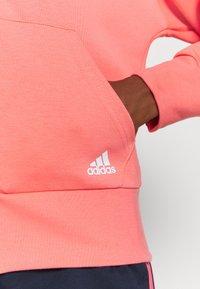 adidas Performance - Zip-up hoodie - coral - 5