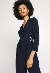 Lauren Ralph Lauren - CLASSIC TRIM - Tuta jumpsuit - lighthouse navy - 4