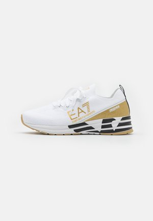 UNISEX - Trainers - white/gold-coloured