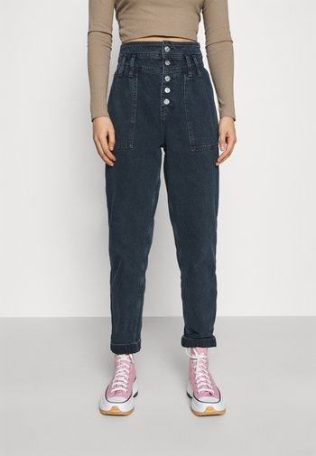 SANDRA - Relaxed fit jeans - blue black