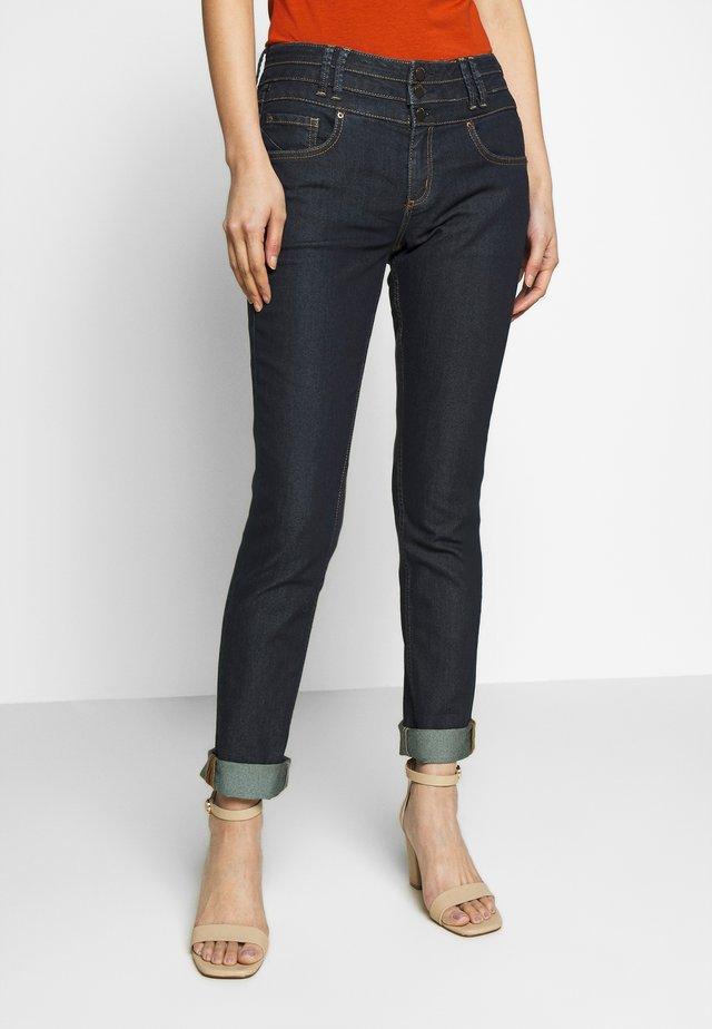 LANG - Slim fit jeans - blue denim