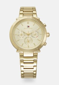Tommy Hilfiger - EMERY - Chronograph watch - gold-coloured - 0