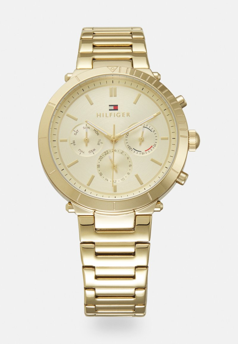 Tommy Hilfiger - EMERY - Chronograph watch - gold-coloured