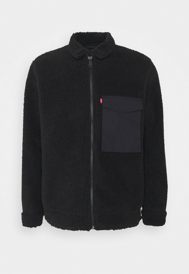 MASON MINIMALIST UNISEX - Fleece jacket - black