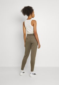 ONLY - POPTRASH EASY COLOUR PANT - Trousers - bungee cord - 2