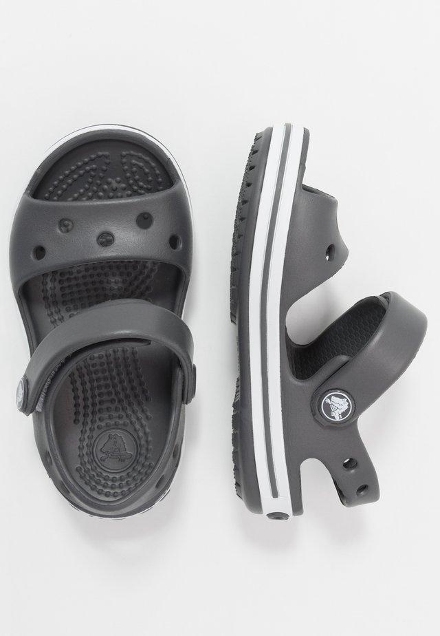 CROCBAND KIDS - Sandały kąpielowe - graphite