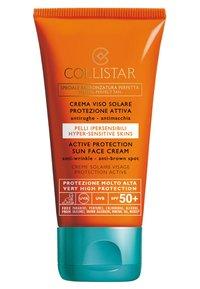 Collistar - ACTIVE PROTECTION SUN FACE CREAM SPF 50+ - Sun protection - - - 0