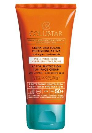 ACTIVE PROTECTION SUN FACE CREAM SPF 50+ - Zonnebrandcrème - -
