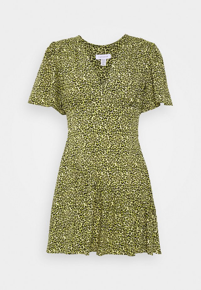 MINI - Day dress - lime