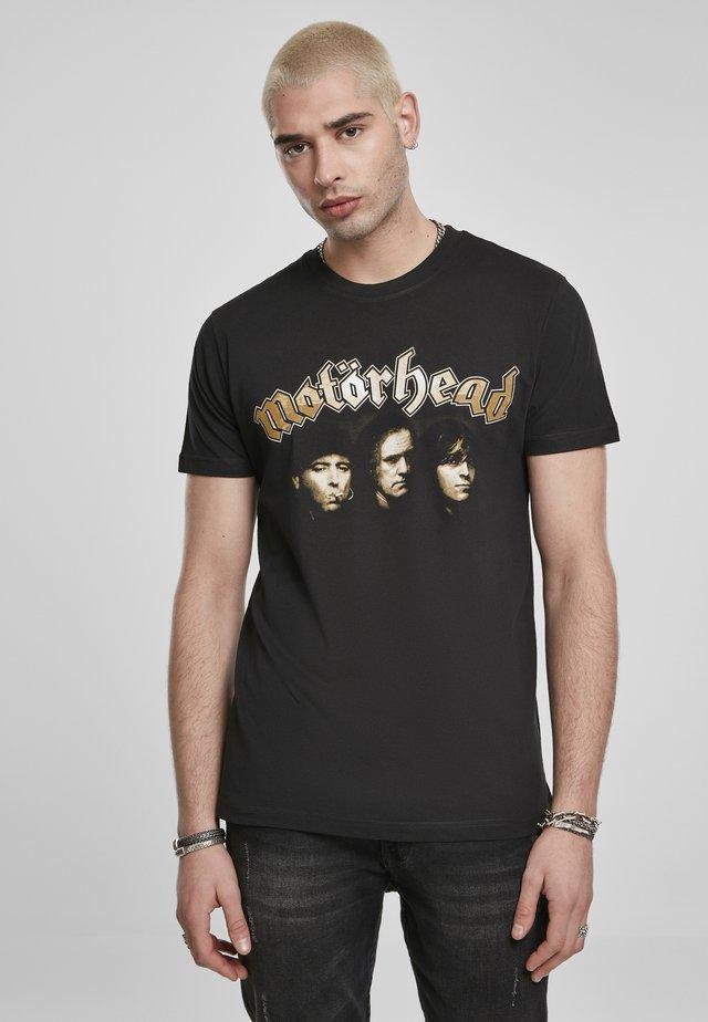 MOTÖRHEAD BAND  - T-shirts print - black
