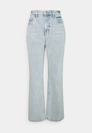 ON THE STRAIGHT AND NARROW - Straight leg jeans - acid blue