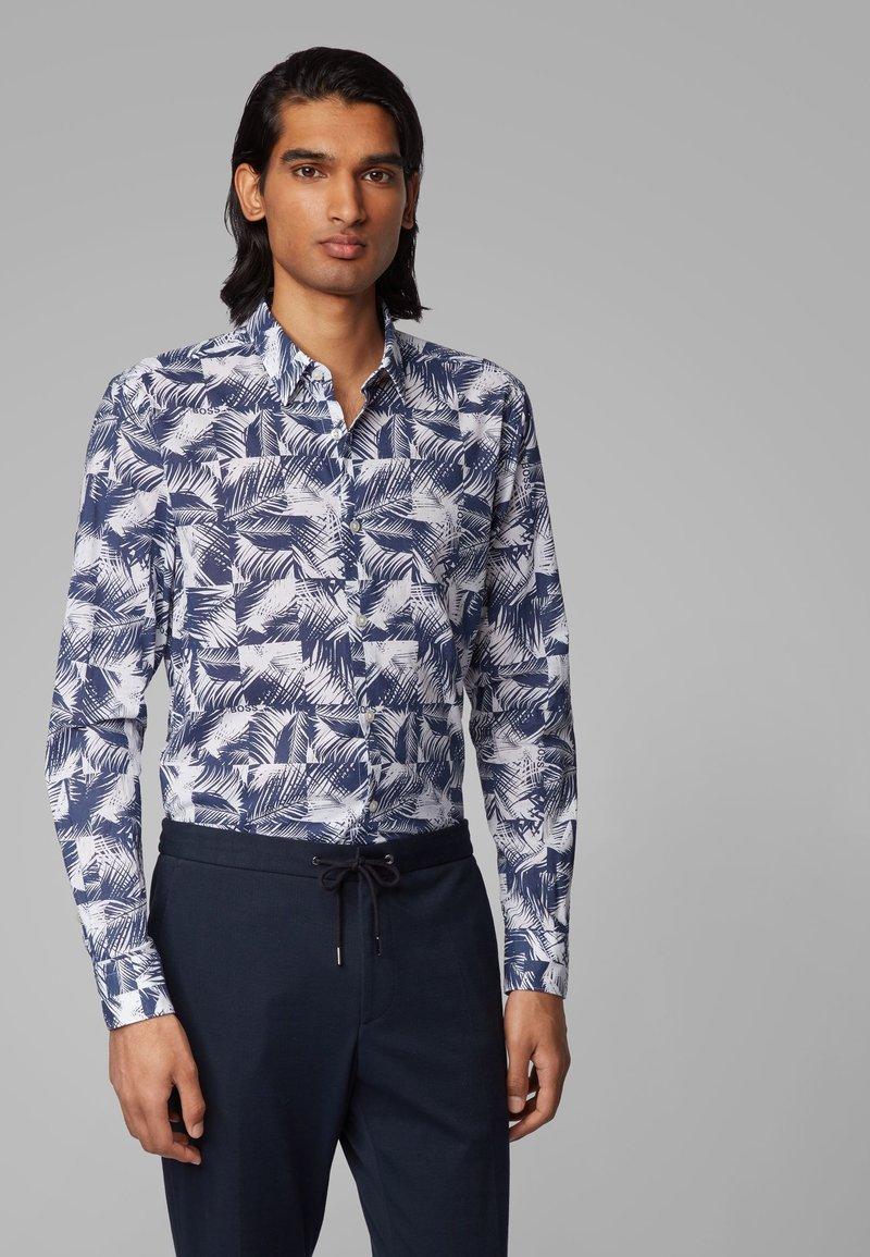 BOSS - RONNI_F - Shirt - dark blue