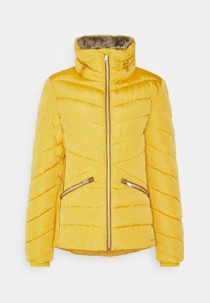 WINTERLY PUFFER JACKET - Winter jacket - california sand yellow