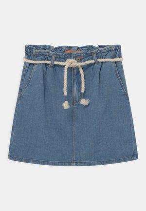 TEENAGER - Denim skirt - light blue denim