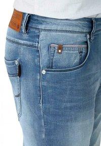 Timezone - Slim fit jeans - antique blue wash - 3
