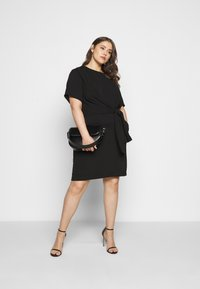 Kaffe Curve - LOTA DRESS - Day dress - black - 1