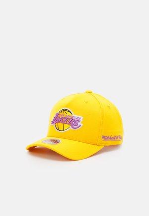 NBA LOS ANGELES LAKERS DROPBACK SOLID REDLINESNAPBACK - Cap - yellow