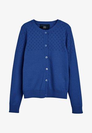Chaqueta de punto - mottled blue