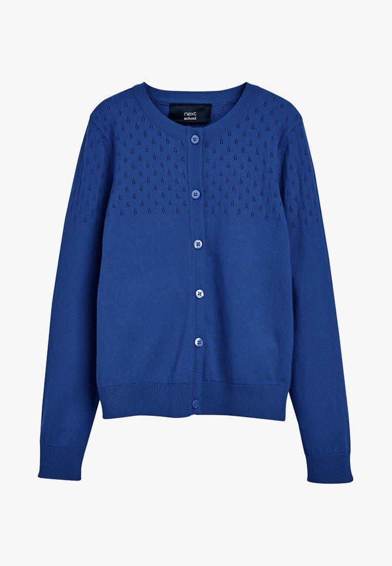 Next - Cardigan - mottled blue