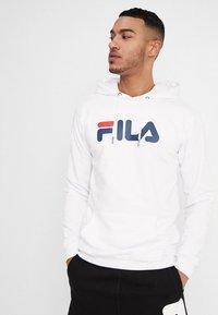 Fila - PURE HOODY - Sweat à capuche - bright white - 0