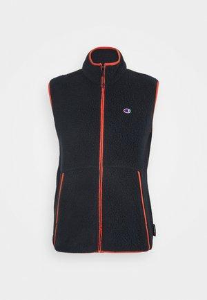 FULL ZIP VEST - Waistcoat - dark blue