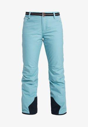 LAWN WOMEN SNOWPANTS - Spodnie narciarskie - polar blue