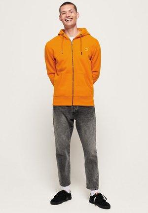 COLLECTIVE - Sweatjacke - orange