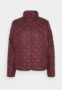Selected Femme - SLFPLASTICCHANGE QUILTED JACKET - Light jacket - port royale - 6