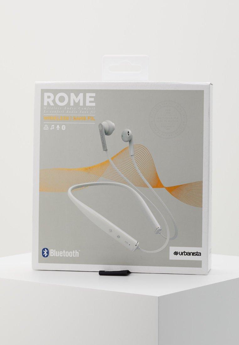 Urbanista ROME NECKBAND BLUETOOTH - Hodetelefoner - fluffy cloud/white/hvit zpWzx07tbNH8Hr6