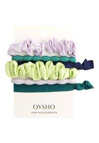 OYSHO - 6 HAARGUMMIS IN VERSCHIEDENEN FARBEN 30933413 - Příslušenství kvlasovému stylingu - mauve - 2